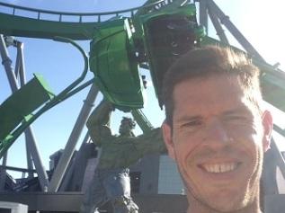 Hulk Rollercoaster